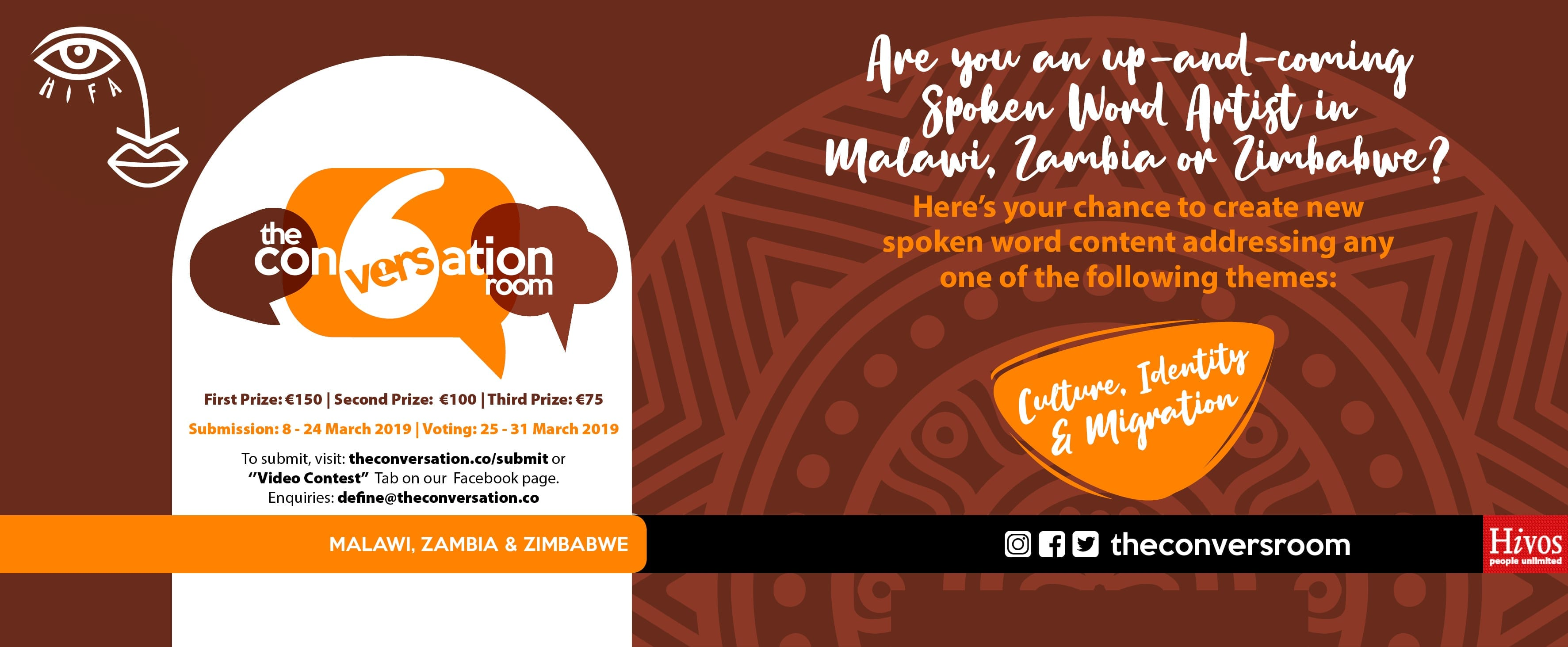 Are you an up-and-coming Spoken Word Artist in Malawi, Zambia or