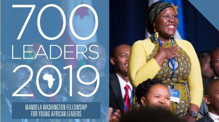Mandela Washington Fellowship: Young African Leaders Initiative (YALI) 2020