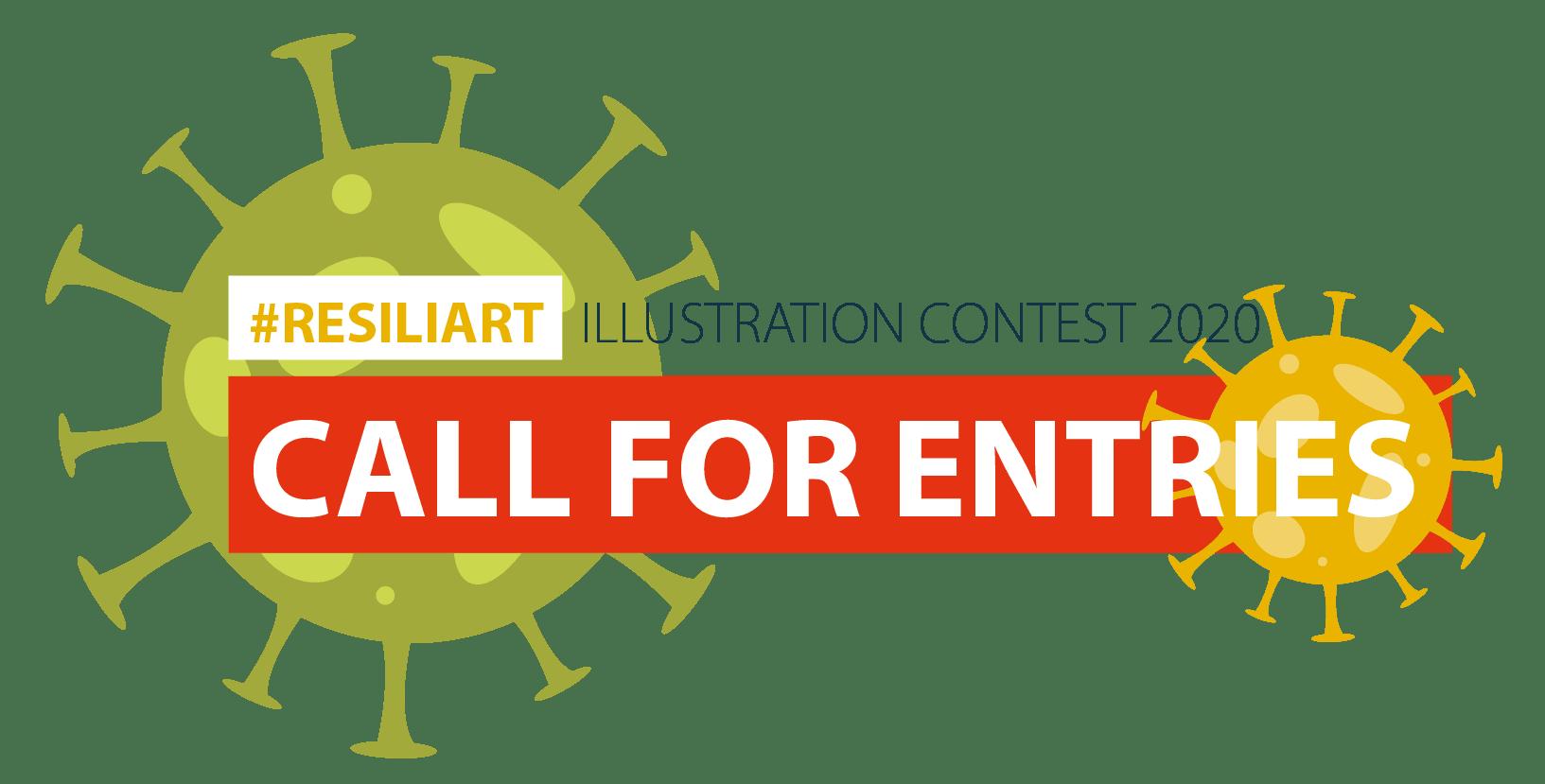 #ResiliArt Illustration Contest 2020 logo
